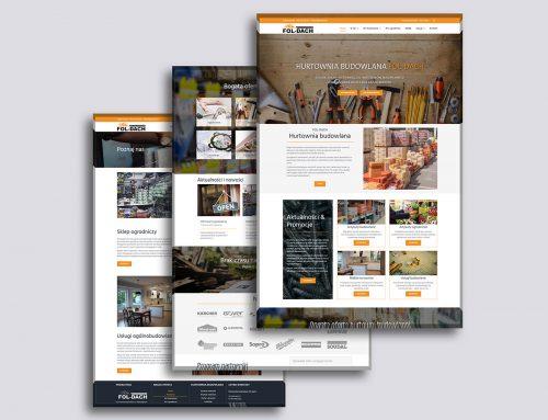 Strona internetowa Fol-Dach