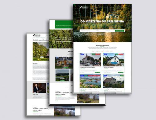 Strona internetowa Kosiński nieruchomości