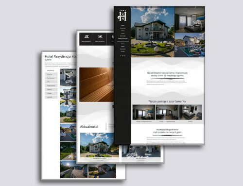 Strona internetowa Rezydencja Mazury